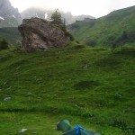 La Balme (1.700m) kampeerplek