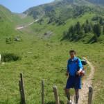 Afdaling van Col de Tricot